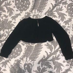 Cat & Jack Long Sleeve Cropped Cardigan Top